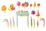"""Набор для украшения торта """"С Днём рождения"""" свечи"""