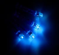 Гирлянда 2 м, 20 лампочек, 2 режима, СИНИЙ
