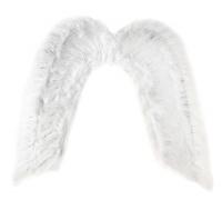 Крылья ангела белые с блестками