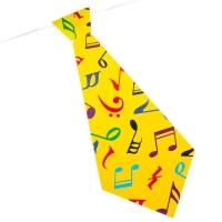 """Карнавальный галстук (набор 6 шт) """"Ноты"""""""