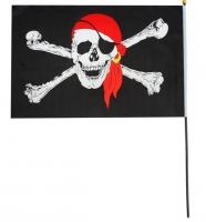 Флаг пирата в бандане 40*60
