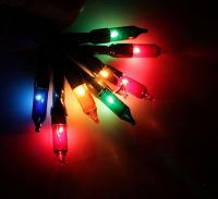 """Гирлянда """"Метраж"""", 6,5 м, темная нить, 100 ламп, 220V, контр. 8 р, МУЛЬТИ"""