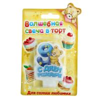 """Свеча в торт С днем рождения """"9"""""""