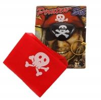 Набор пирата 3в1( бандана+клипса+наглазник)