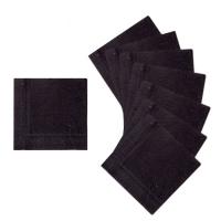 Салфетки, цвет черный