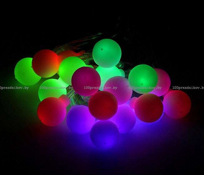 Гирлянда Luazon Метраж LED-100-24В 10m White 1586023