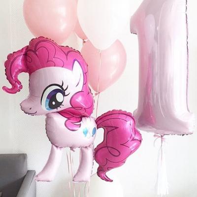 """Фольгированный шар """"Милая пони Пинки Пай"""" (40″/102 см)"""