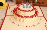 """Открытка """"Большой торт"""""""