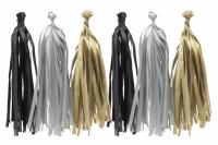 Гирлянда Тассел, Серый 2 м, 10 листов