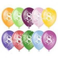 Воздушный шар цифра 8 (Восемь)