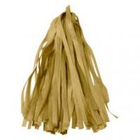 Гирлянда Тассел, Золото, 2 м, 10 листов