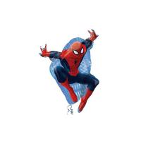 """Фольгированный шар """"Человек паук в прыжке"""" 29"""" АГ"""