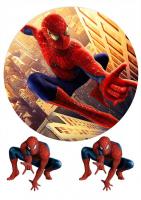 """Съедобная картинка """"Человек паук"""" №2"""