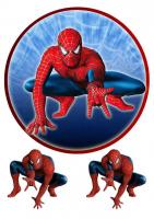 """Съедобная картинка """"Человек паук"""" №3"""
