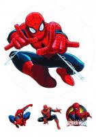 """Съедобная картинка """"Человек паук"""" №5"""