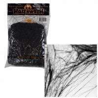 Паутина декоративная, чёрная