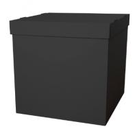 Коробка сюрприз для воздушных шариков, Черный 60*60*60 см