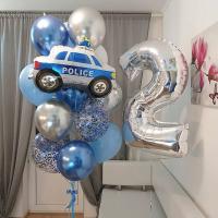 """Сет шаров """"Полиция"""""""