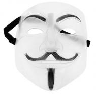 "Карнавальная маска ""Гай Фокс"", пластик"
