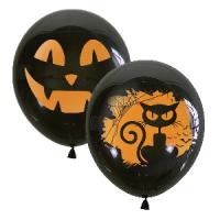 """Воздушные шарики 12"""" """"Хеллоуин"""""""