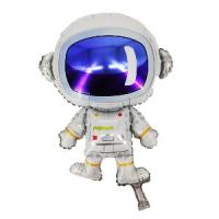 """Фольгированный шар """"Астронавт"""" 84см Х 58см шар фольгированный"""