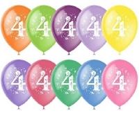 Воздушный шар цифра 4 (Четыре)