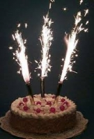 Фонтан в торт 12 см