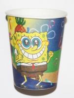 Бумажный стаканчик Спанч Боб (Губка Боб)