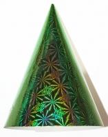 Колпак БОЛЬШОЙ голография зелёный