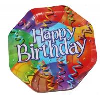 Тарелка Happy Birthday