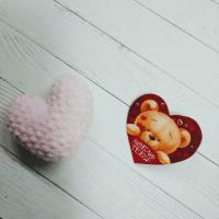 Валентинка и сердце ручной работы №3