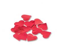 Конфетти Сердца фольг красные 3см 30гр
