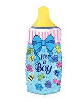 """Фольгированный шар """"Бутылочка Boy"""" 88 см"""