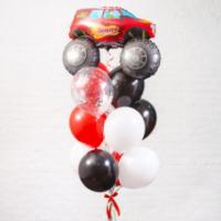 Букет из шаров для мальчика, 10+1 шт
