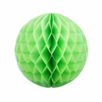 Бумажные шары соты зеленый цвет 20 см