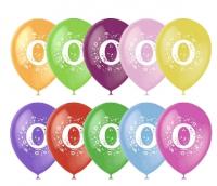 Воздушный шар цифра 0 (Ноль)
