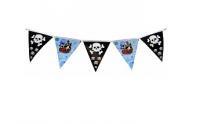 Гирлянда Флажки (пираты) 330см