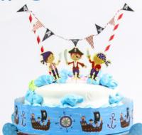 """Украшение для торта """"Пиратский праздник"""""""