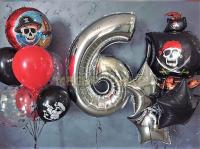 """Сет шаров """"Пиратская вечеринка"""""""