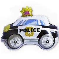 """Фольгированный шар """"Полицейская машина"""" 29""""/74 см"""
