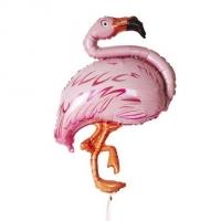 Фольгированный шар Фламинго