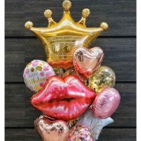 """Сет шаров """"Поцелуй королевы"""""""