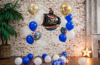 """Сет из шаров """"Пиратская вечеринка"""""""