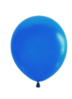 "Воздушный шар синий 12"""