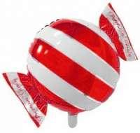 Фольгированный шар конфетка красная