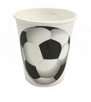 """Бумажные стаканы """"Футбольный мяч"""", 180 мл, 6шт"""