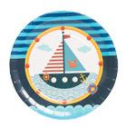 """Бумажные тарелки """"Морские приключения"""" 6 шт"""