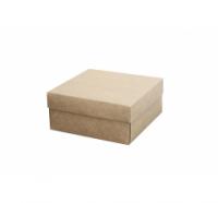 Подарочная коробка 150*150*70 мм, крафт