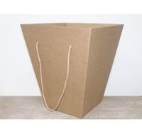Коробка для транспортировки цветов 340*340*400 мм, крафт