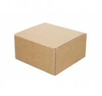 Подарочная коробка 100*100*55мм, крафт